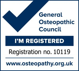 General Osteopathic Council Registered Number