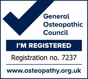 General Osteopathic Council Registration Number