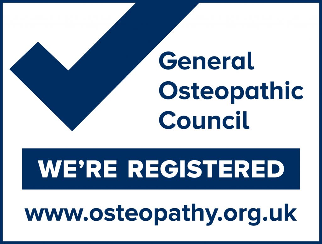 General Osteopathic Council Registered Mark